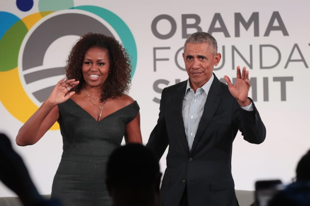 Barack And Michelle Obama thegrio.com