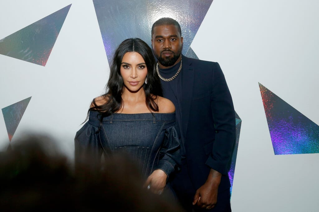 Kanye West Kim Kardashian thegrio.com