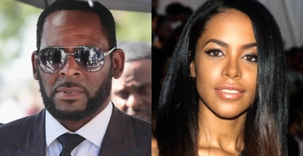 R. Kelly Aaliyah thegrio.com