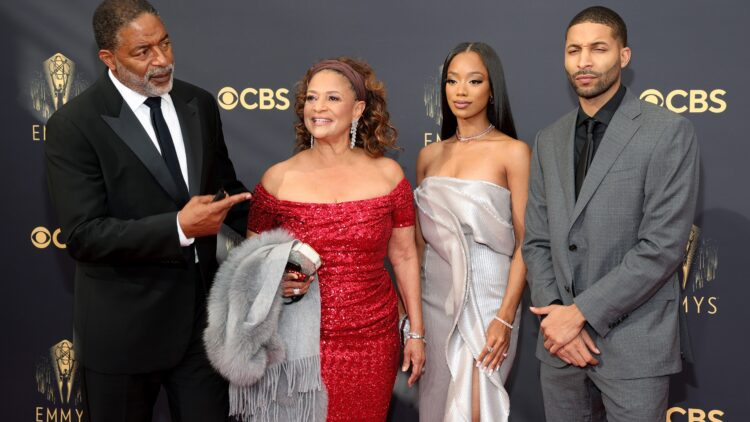 Debbie Allen moved to tears as she accepts Emmy Governors Award