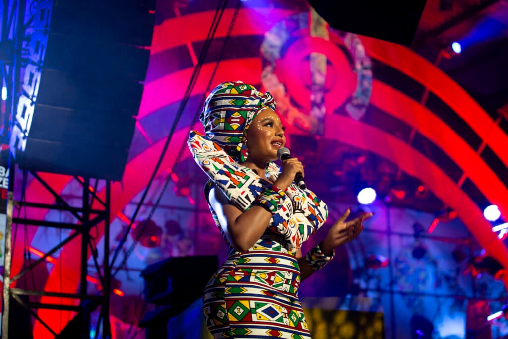 Black creativity abounds at the 2021 Global Citizens Concert event