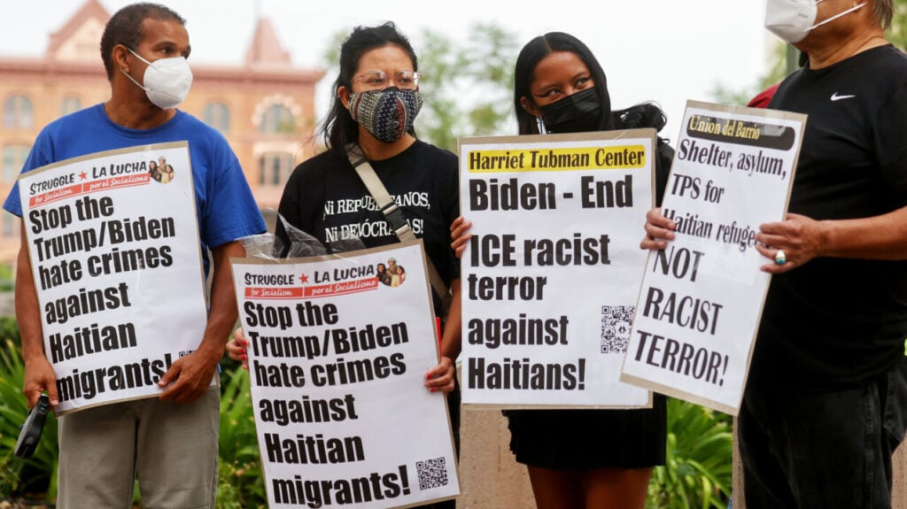 Biden administration hit with complaint from Black immigration groups over Haitian migrants