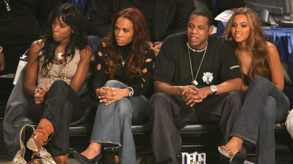 Kelly Rowland, Michelle Williams, Jay Z, and Beyonce Knowles, theGrio.com