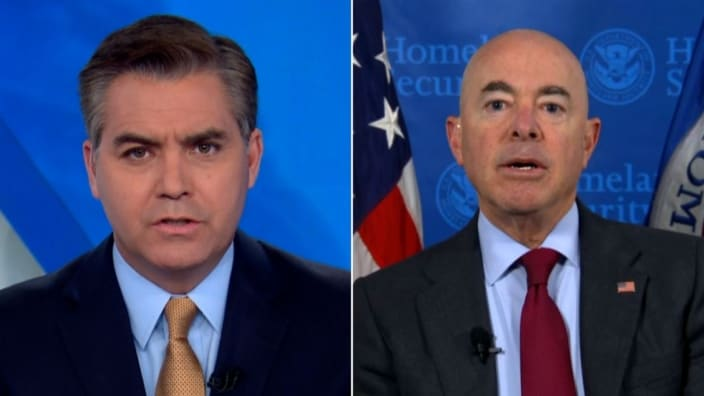 Jim Acosta on refugee 'contradiction': 'Welcoming Afghans, but sending Haitians back'