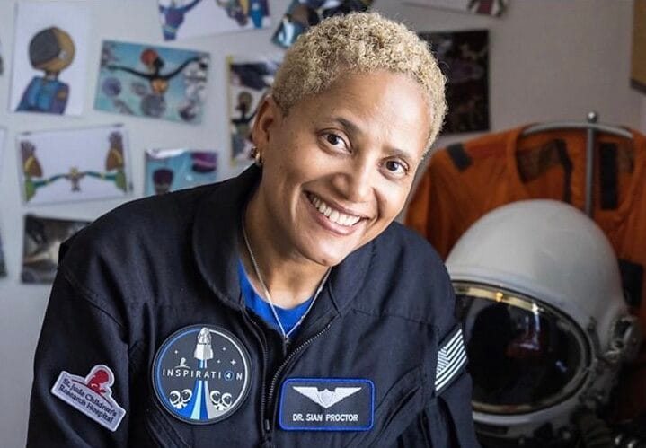 Sian Proctor Makes History as First-Ever Black Female Spacecraft Pilot