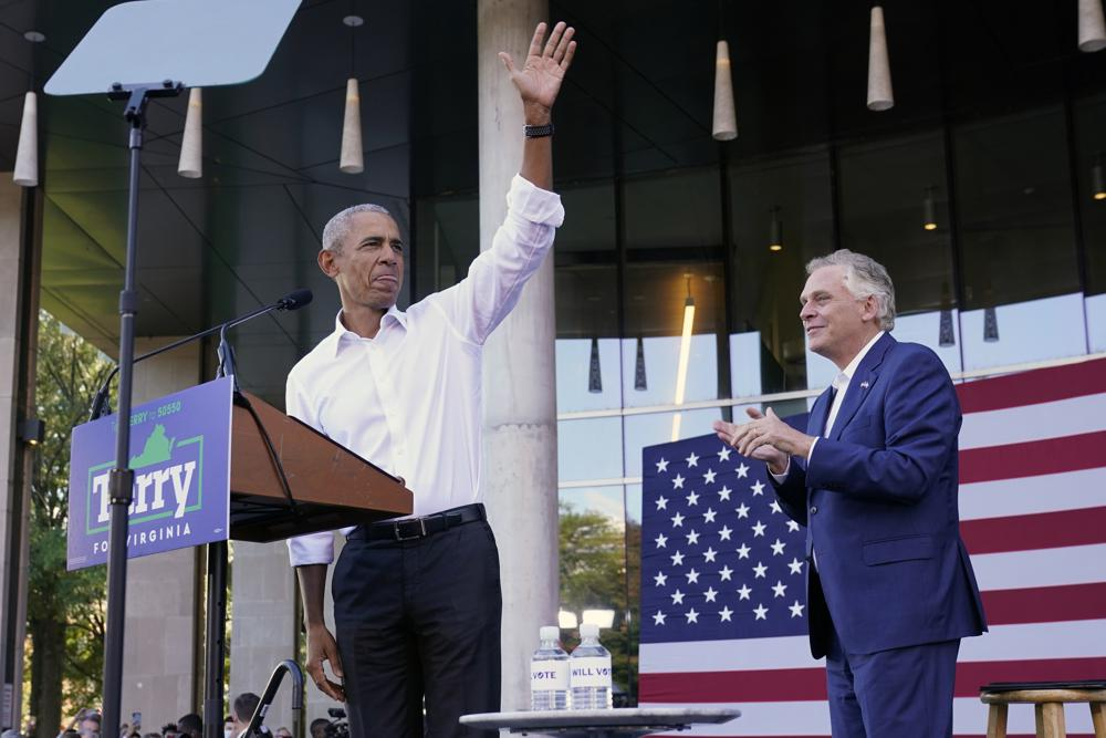 Barack Obama sharply criticizes Glenn Youngkin in Virginia gov racefacebooktwitterInstagramlinkedinfacebooktwitterfacebooktwitterfacebookInstagramlinkedinGrouptwitterYoutube