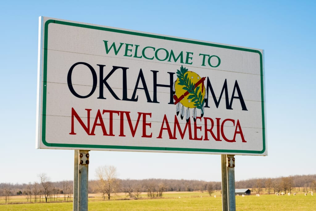 Welcome to Oklahoma Sign