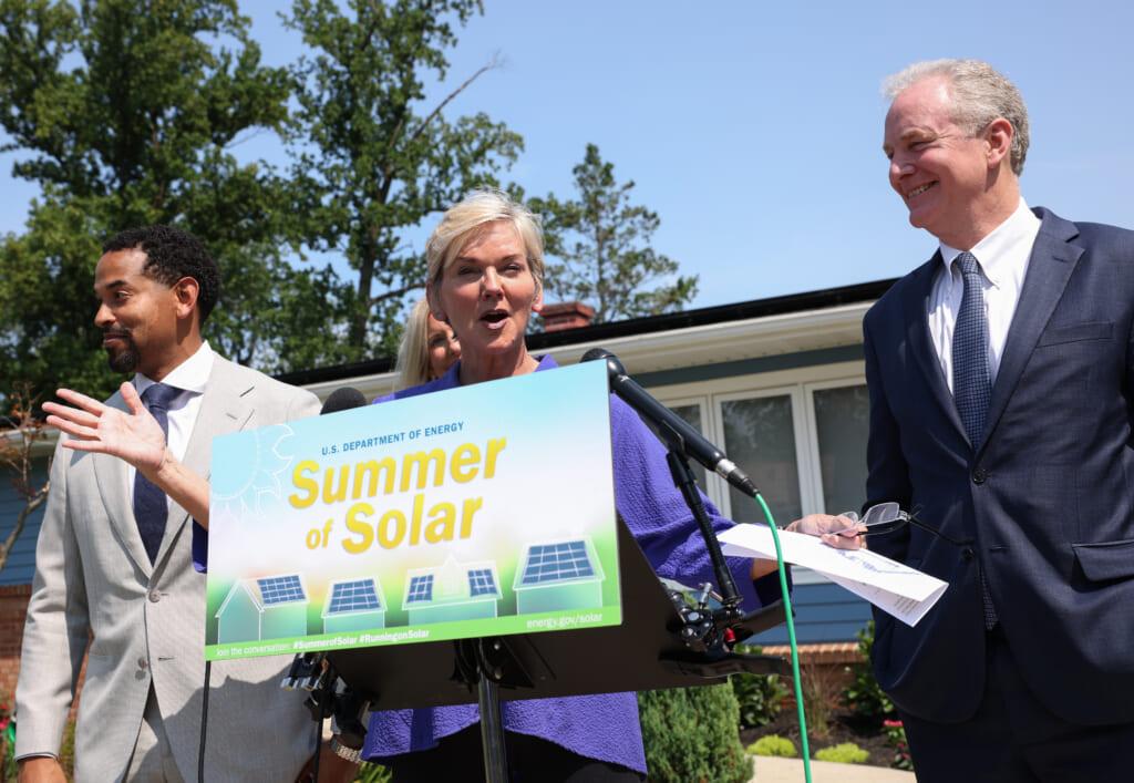 U.S. Energy Secretary Jennifer Granholm