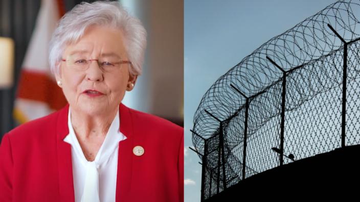 Gov. Kay Ivey and prison
