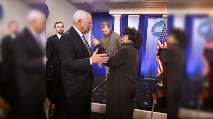 April Ryan recalls White House encounters with Colin Powell, reflects on his legacy